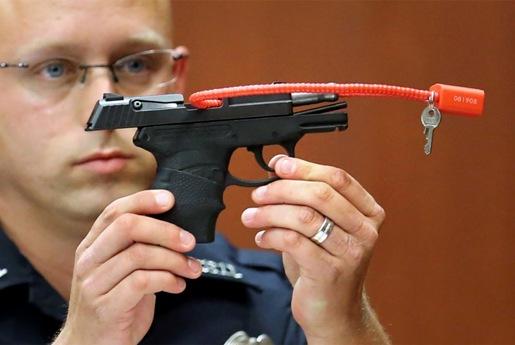 zimmerman''s gun
