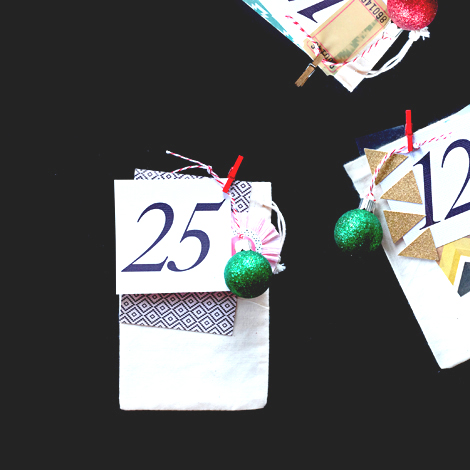 Maria Lacuesta - Crate Paper Design Team - DIY Advent Calendar