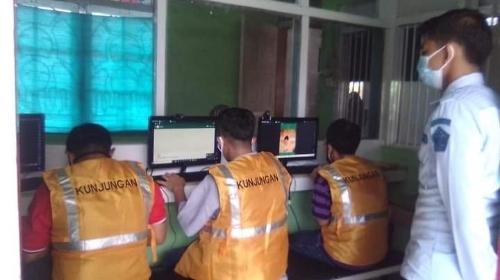 Rupajang Adakan Layanan Video Call Bagi WBP.