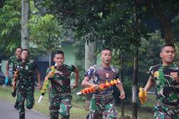 Lomba Lari Estafet Antar Kompi, Ajang Prajurit Yonif MR 411/Pandawa Kostrad Pupuk Jiwa Korsa