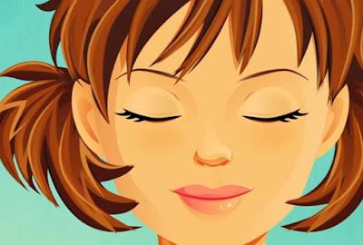 olhando para cima e para baixo melhorar visão vista cansada