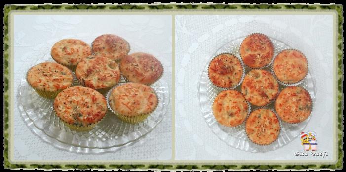 Muffin de brócolis e cenoura 1