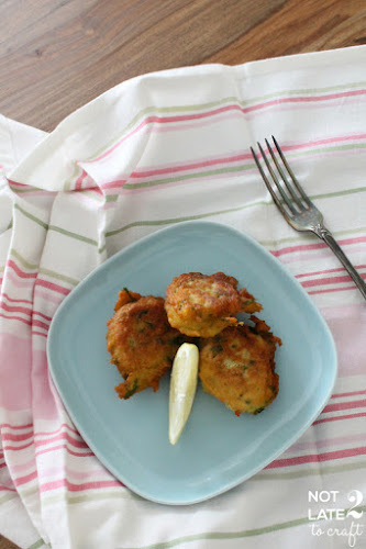 Not 2 late to craft: Bunyols de bacallà / Cod fritters