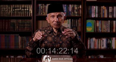 Sebut Pemerintah Merasa Paling Pintar, Amien Rais Mengingatkan Jokowi