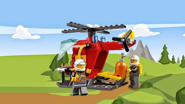 Lego Juniors 10685 Vali Cứu hỏa Fire Suitcase bao gồm 2 nhân vật