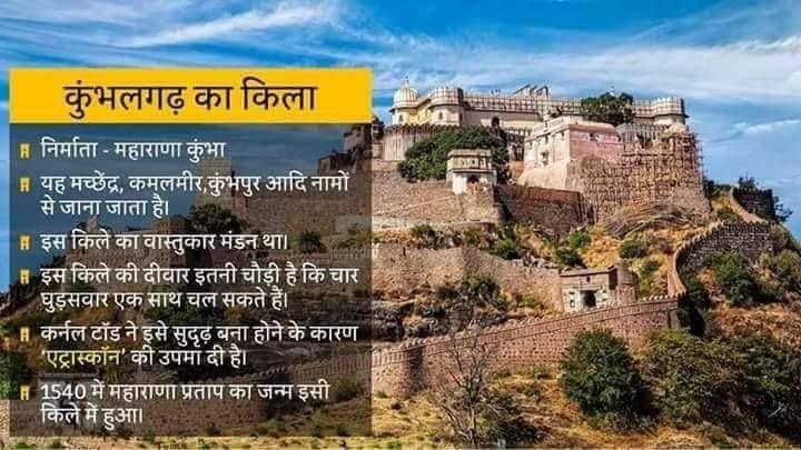 कुंभलगढ़ का किला - आइये जाने इसके बारे में