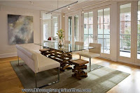 20 mẫu bàn ghế ăn bằng kính cho phòng ăn hiện đại - Thi công nội thất