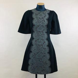 Dolce & Gabbana Cashmere & Lace Dress