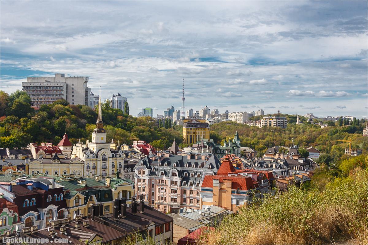Воздвиженка - мёртвый город в центре Киева