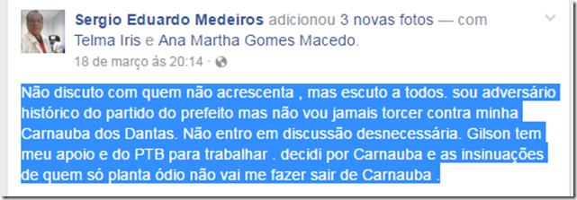 Facebook Sergio Eduardo