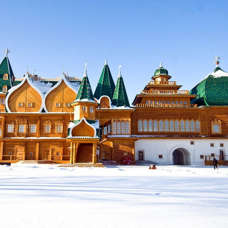 The Wooden Palace of Tsar Alexei Mikhailovich
