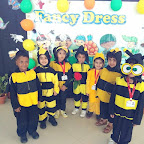 Fancy Dress Activity - Creepy Crawlies (Jr.KG. A & B) 27-9-2018