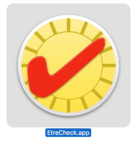 8 Etrecheck 4 icon