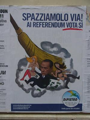 国民投票のポスター