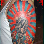 arm microphone - tattoos ideas
