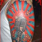 arm microphone - tattoos ideas