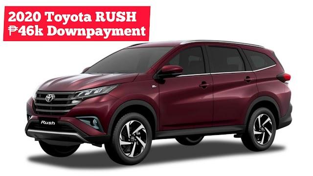 2020 Toyota RUSH SUV Low Downpayment Installment Promos | Toyota Batangas City