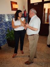 Photo: Sessão de apresentação do espaço Level UP - Dra. Ana Paula Martins e Arqto Luis Nunes - C.M. de Tavira