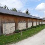 Conservatoire National des Plantes : anciens bâtiments de séchage