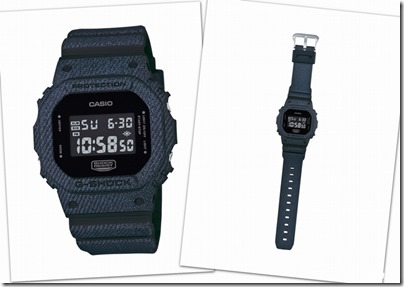 Casio G-SHOCK Denim' D Color Series DW-5600 02