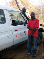 Our driver and dedicated medical vehicle