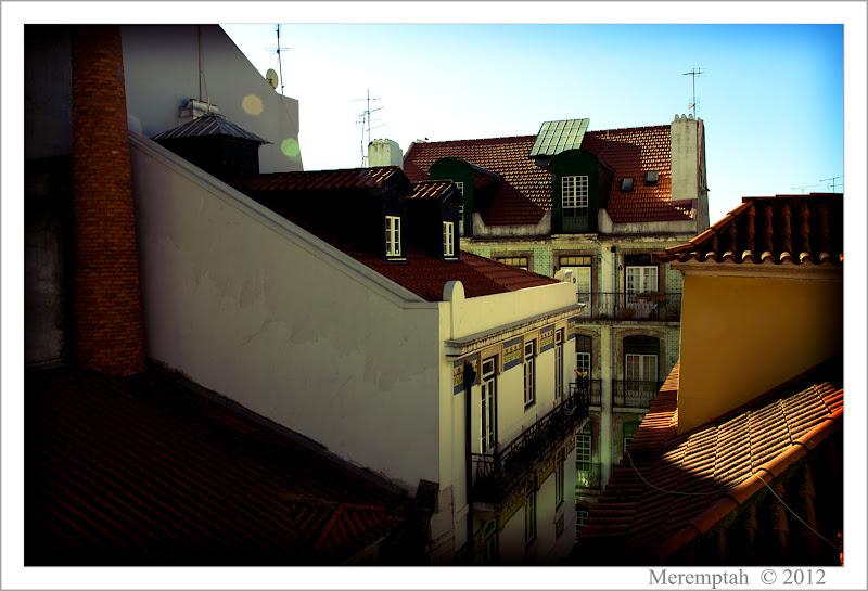 Telhados Toits Sé Lisbonne