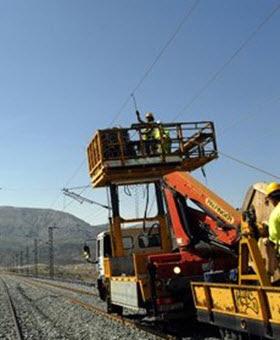 Mejoras en la infraestructura del tren entre Santa María de la Alameda y La Cañada (Ávila)