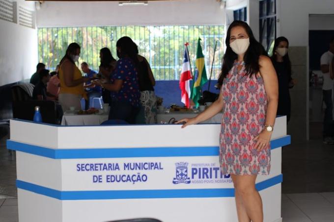 Piritiba: Visando mais acessibilidade, comodidade e melhor localização, a Secretaria Municipal de Educação, iniciou suas funções administrativas em nova sede