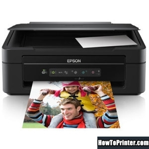 Reset Epson XP-203 printer with Epson resetter