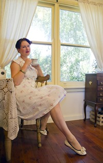 A Decade of Style Challenge - 2014 Vintage Fashion   Lavender & Twill