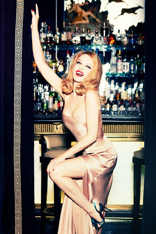 Kyilie Minogue for GQ Germany