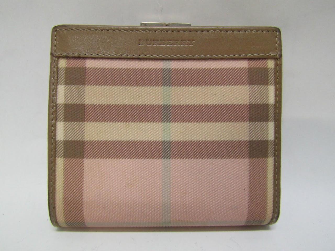 Burberry Plaid Wallet