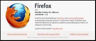 Firefox 4 en Español Ubuntu