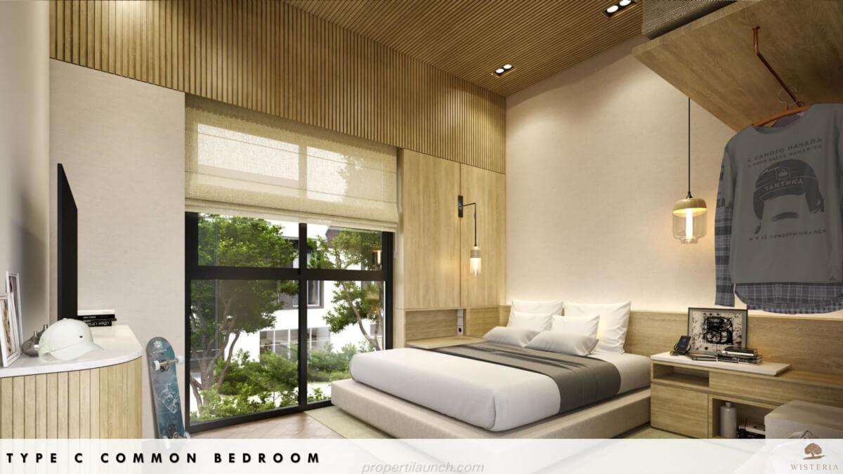 Rumah Wisteria Tipe C - Bedroom
