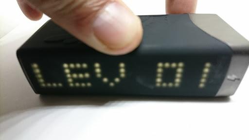 DSC 1397 thumb%25255B2%25255D - 【MOD】「CigGo Paraxis Vapor Tattoo 75 TC BOX MOD」レビュー。ドットLEDとシングル18650で使いやすい小型MOD。VAPEレベルを磨け!【温度管理TC-VW対応-電子タバコ】