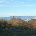 pogled na vrhove južnog Velebita