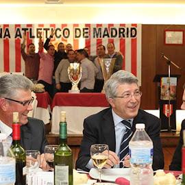 Cena Peña Atlético de Madrid Puebla de la Calzada