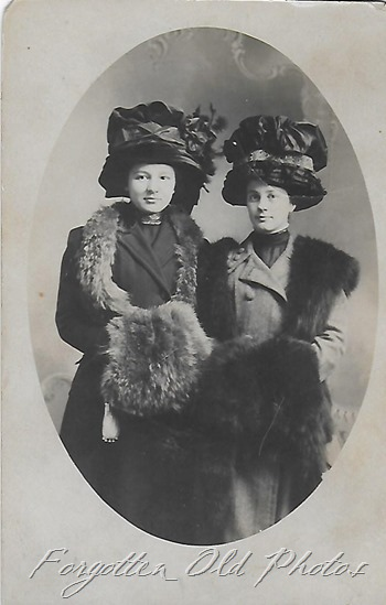 Ladies hats and Furs DL ant
