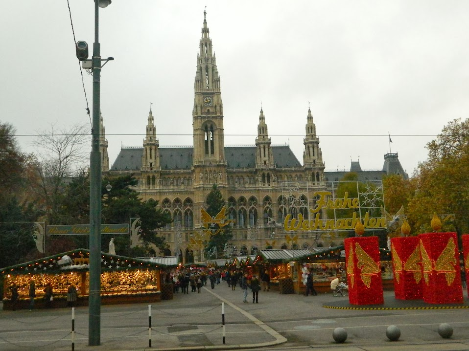 Vienna Christmas Market Rathausplatz