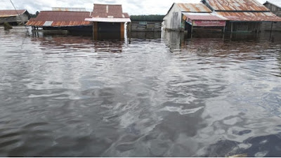 Banjir Rendam Ratusan Rumah Warga di Desa Belitang