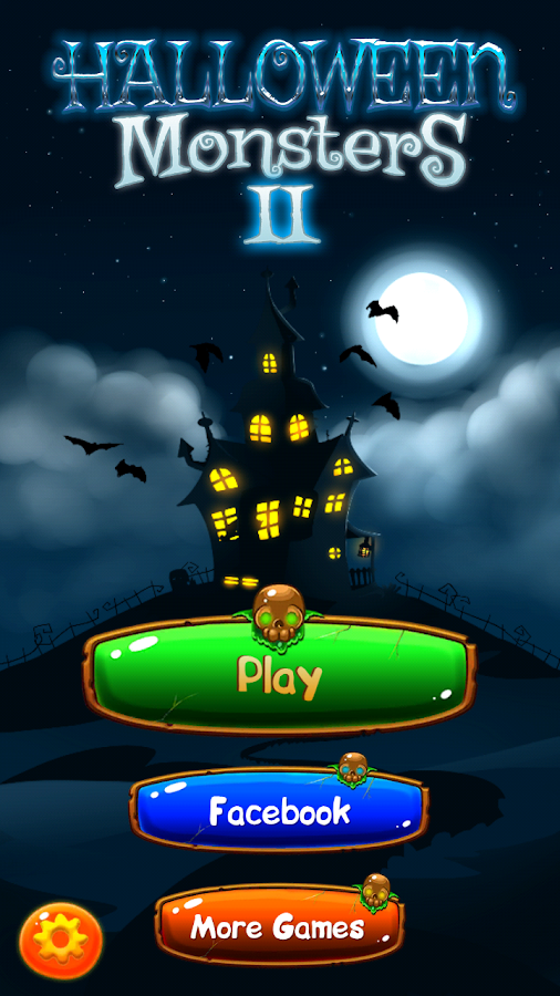 Halloween Monsters II: Match 3- screenshot