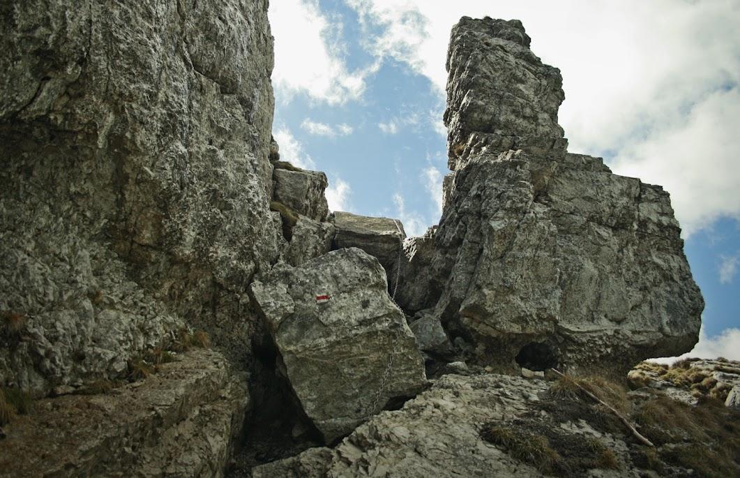 Szlak na Siwy Wierch łańcuchy