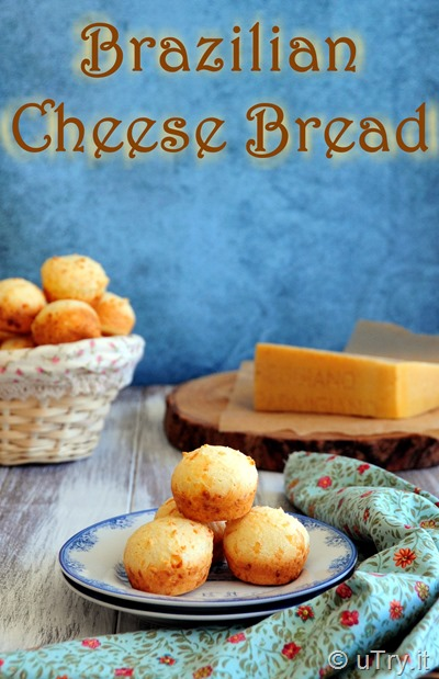 How to Make Brazilian Cheese Bread (Pão de Queijo) 一口芝士包   http://utry.it
