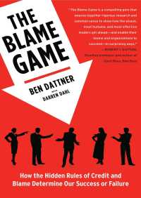 The Blame Game By Ben Dattner