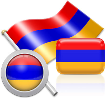 Armenian flag icons pictures collection