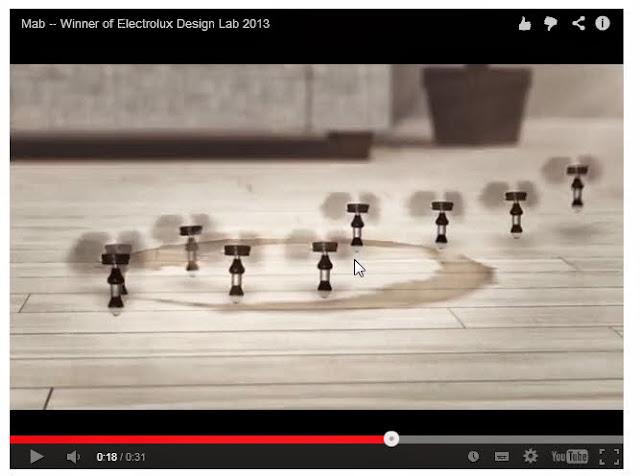 Mini robots nettoyeurs