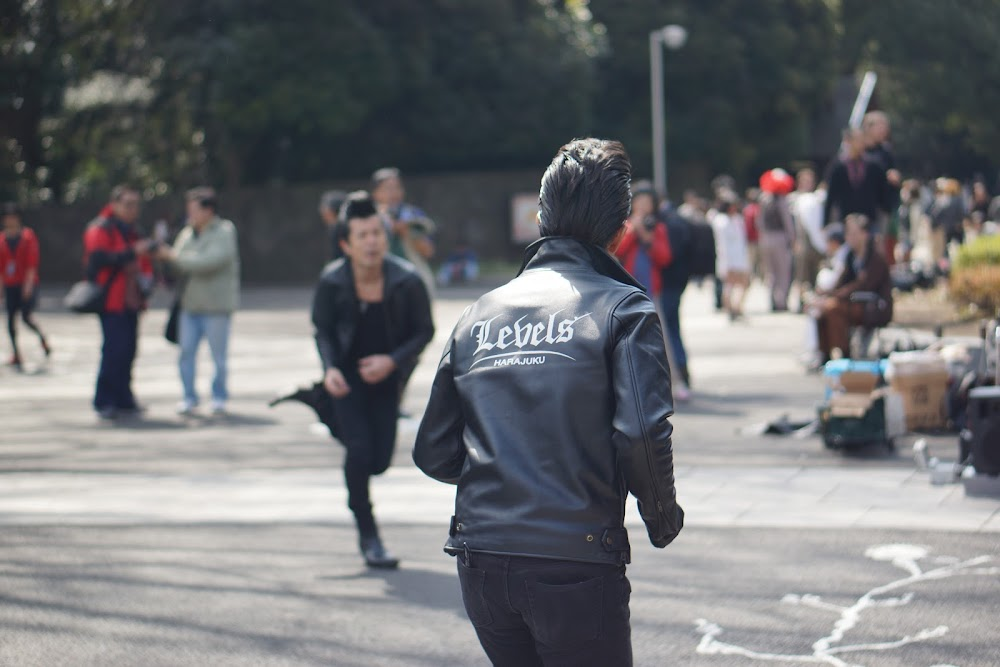 rockabilly in Harajuku