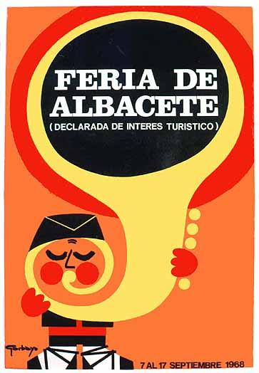 Cartel Feria Albacete 1968