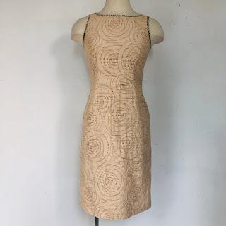 Fendi Sleeveless Sheath Dress