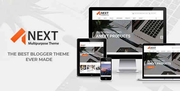 Anext - Responsive Multipurpose Blogger Templates